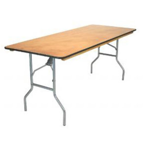 6 / 8 Foot Banquet Table