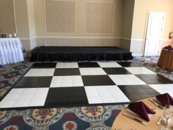 Staging & Flooring