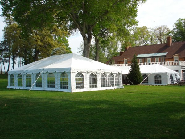 Frame Tent with Sides