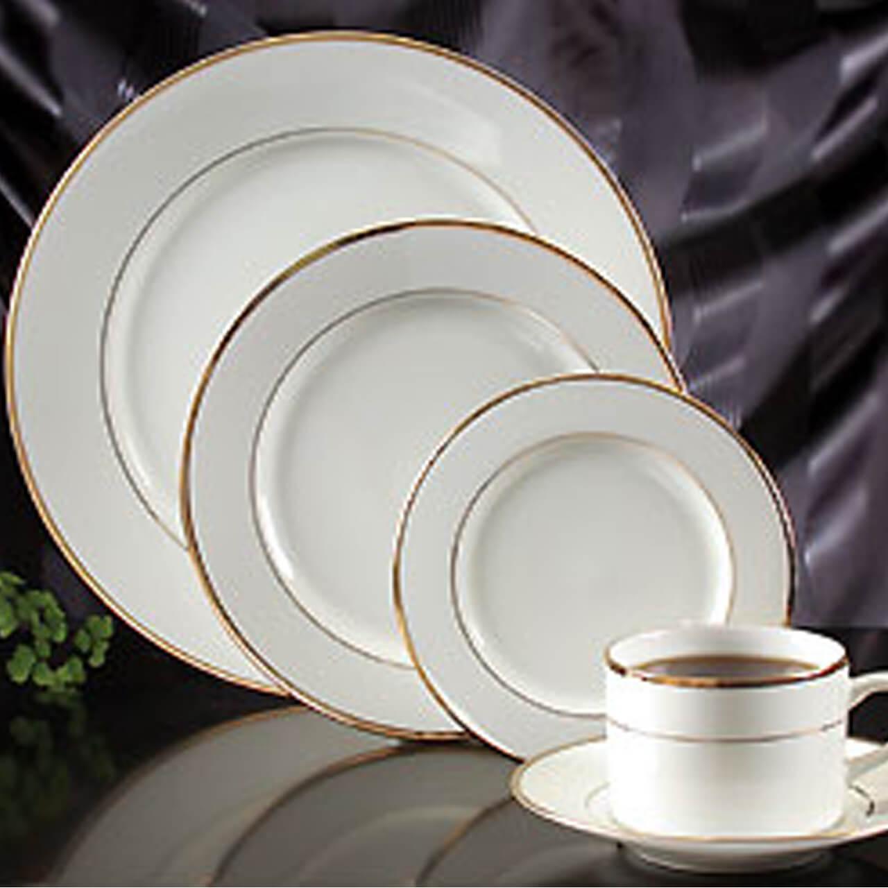 Home Gold Rimmed Vintage China Al