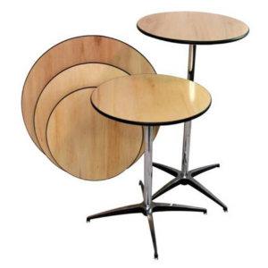 Highboy / Lowboy Cocktail Tables
