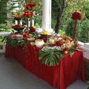 event rental banquet tablecloth
