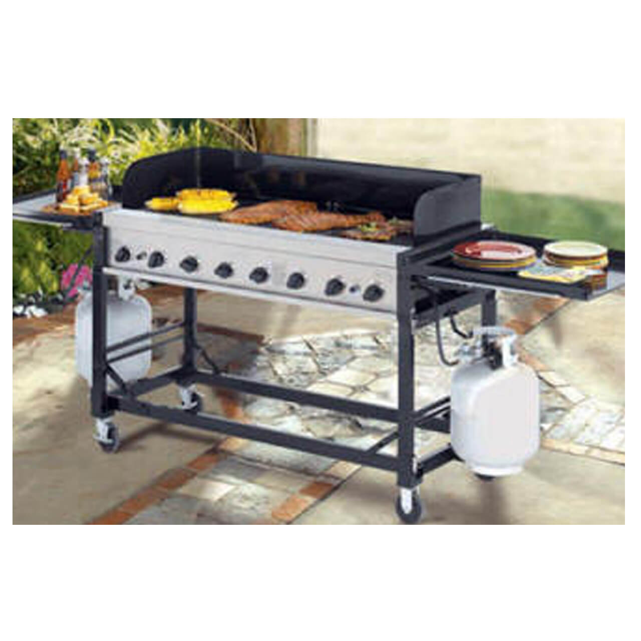 Party Rental Outdoor Grill Sw Florida Exclusive Affair