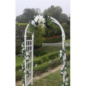 simply decorated arch