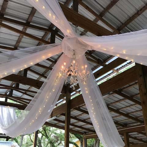 Ceiling Drape lighting