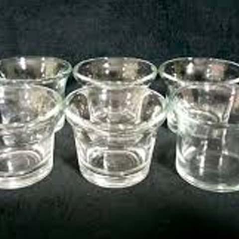 Glass Cocktail Votive